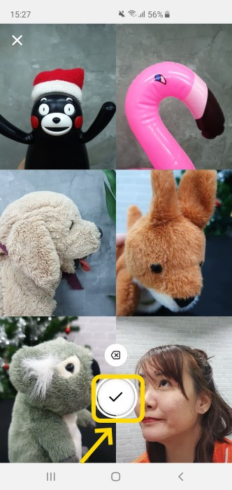 Instagram Stories หลายรูป
