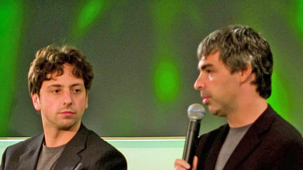 Larry Page กับ Sergrey Brin