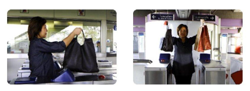 ใช้ประตูอัตโนมัติ รถไฟฟ้า BTS MRT