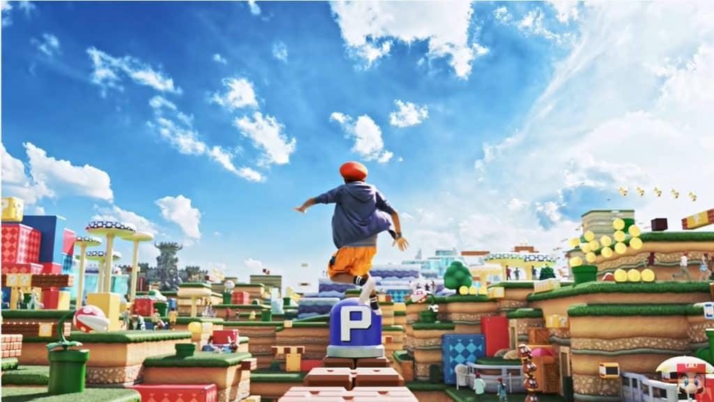 Super Nintendo World สวนสนุก