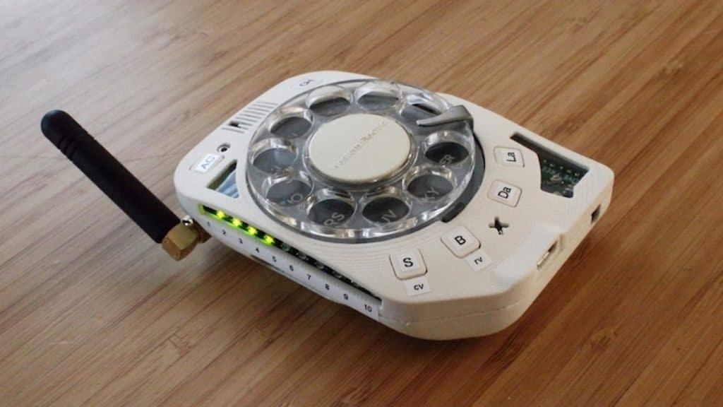 a Rotary Cell Phone