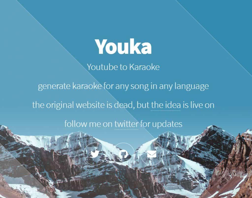 เว็บไซต์สร้างคาราโอเกะ บน Youtube