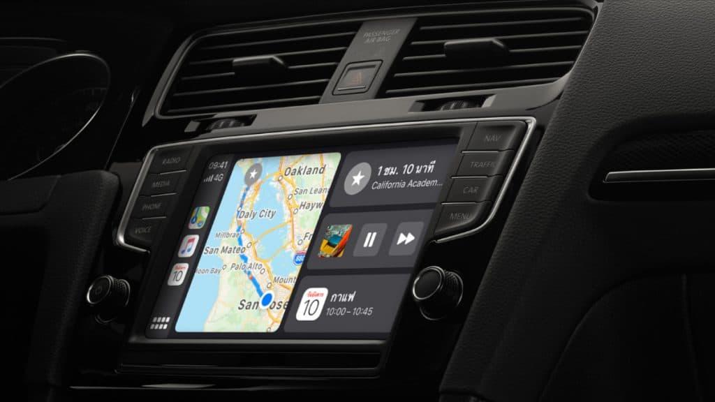 Apple Carplay กับรายชื่อรถยนต์