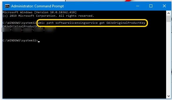 วิธีหา Product Key ของ Windows 10 รวดเร็วด้วย command ...
