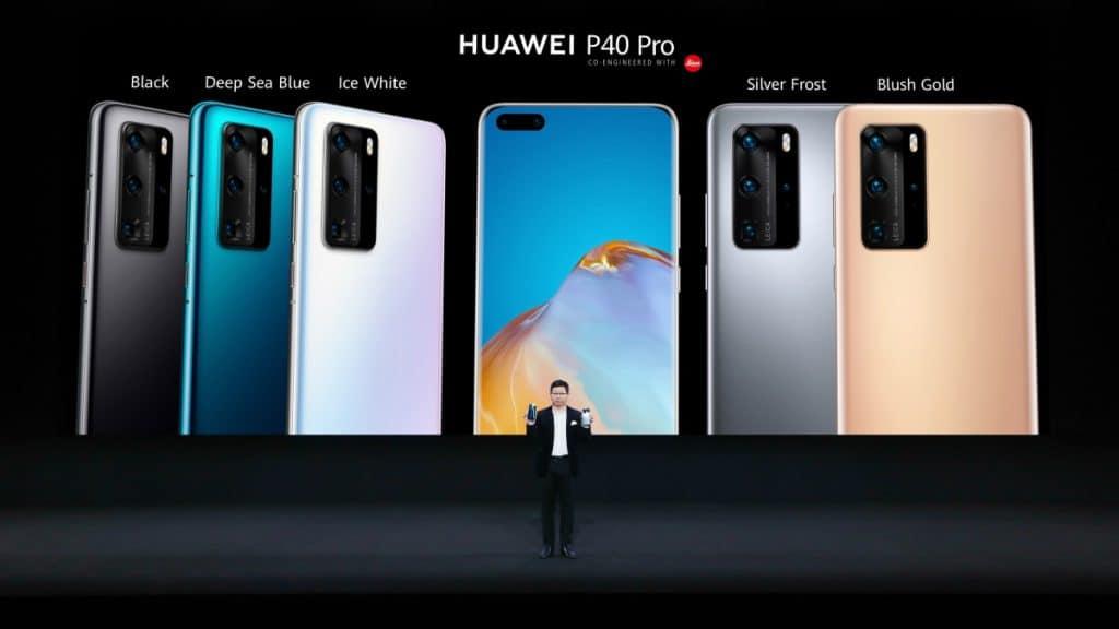 เปิดตัว Huawei P40