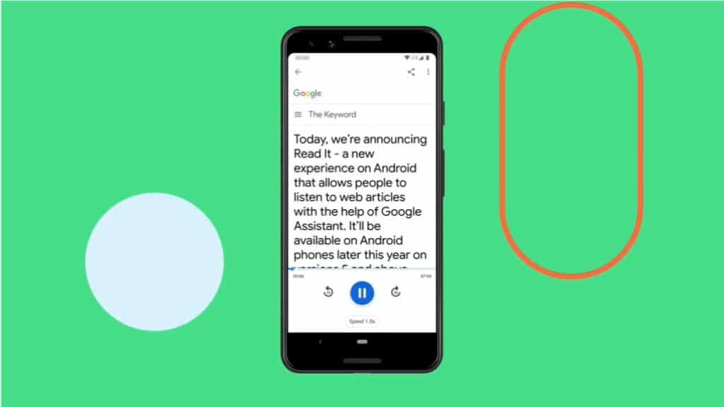 สั่ง Google Assistants ช่วยอ่านบทความให้ฟัง