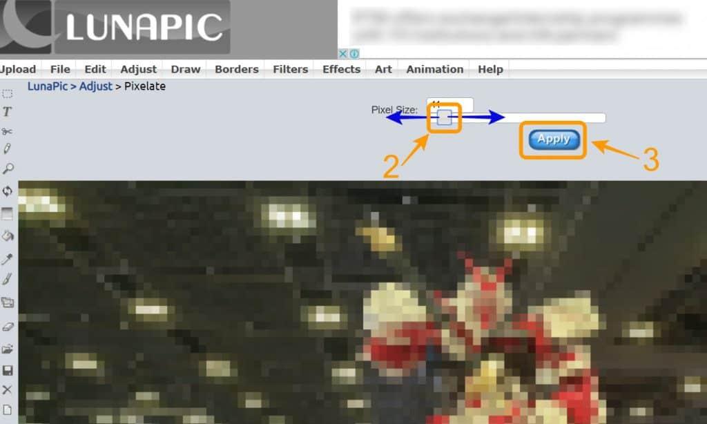 วิธีเบลอรูป เซ็นเซอร์รูป บนออนไลน์