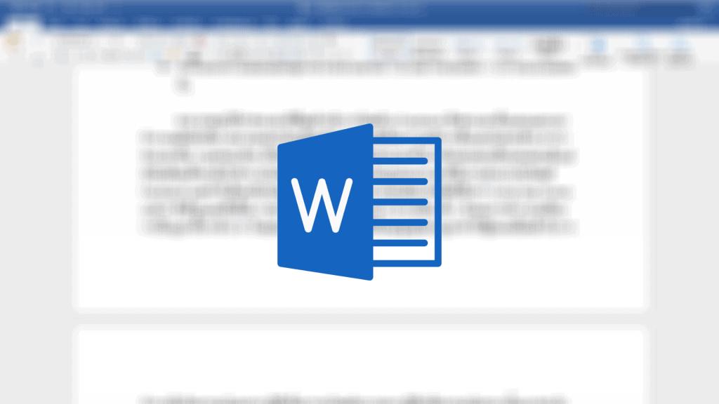 ปุ่มลัด Microsoft Word