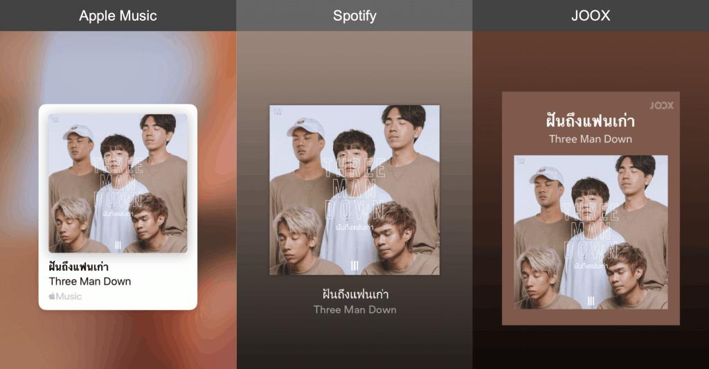 วิธีการแชร์เพลงจาก Apple music