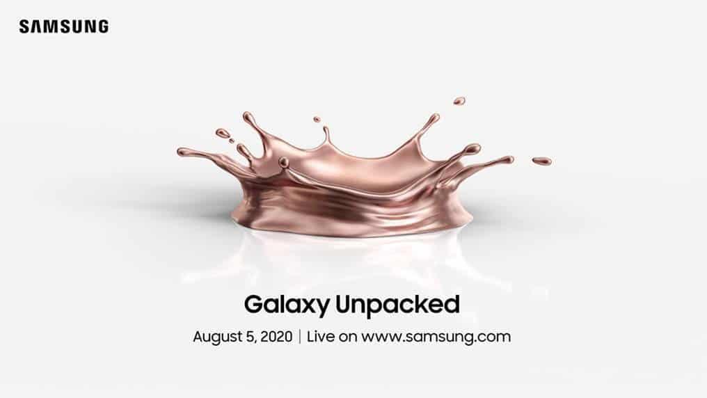 Samsung เตรียมเปิดตัว Galaxy Note 20
