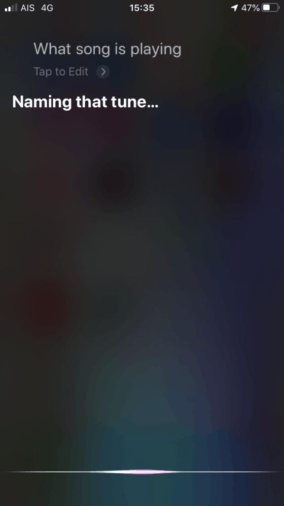 แอพหาเพลง Siri