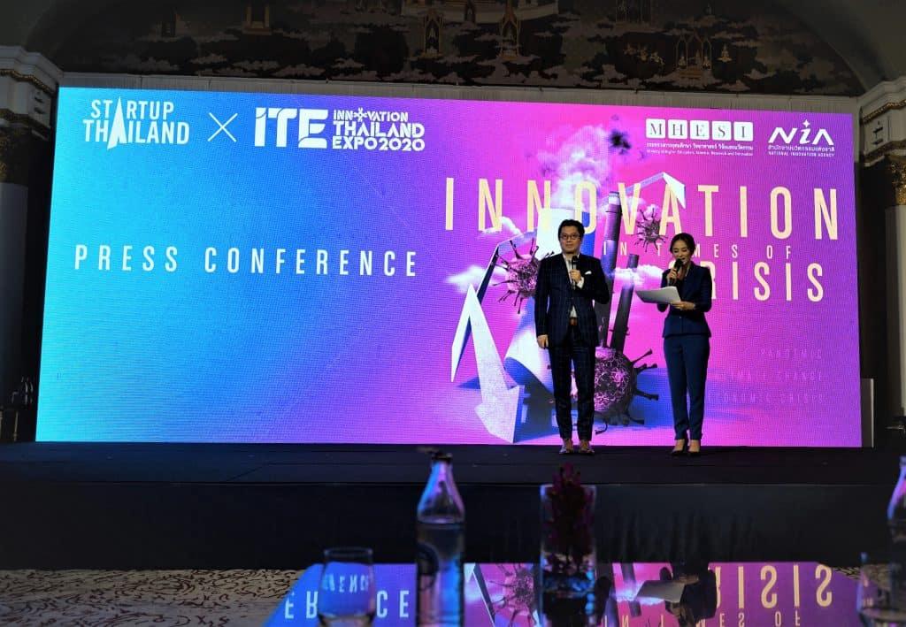 NIA จับมือ 133 องค์กรพันธมิตร แถลงจัดงาน STARTUP THAILAND X INNOVATION THAILAND EXPO 2020