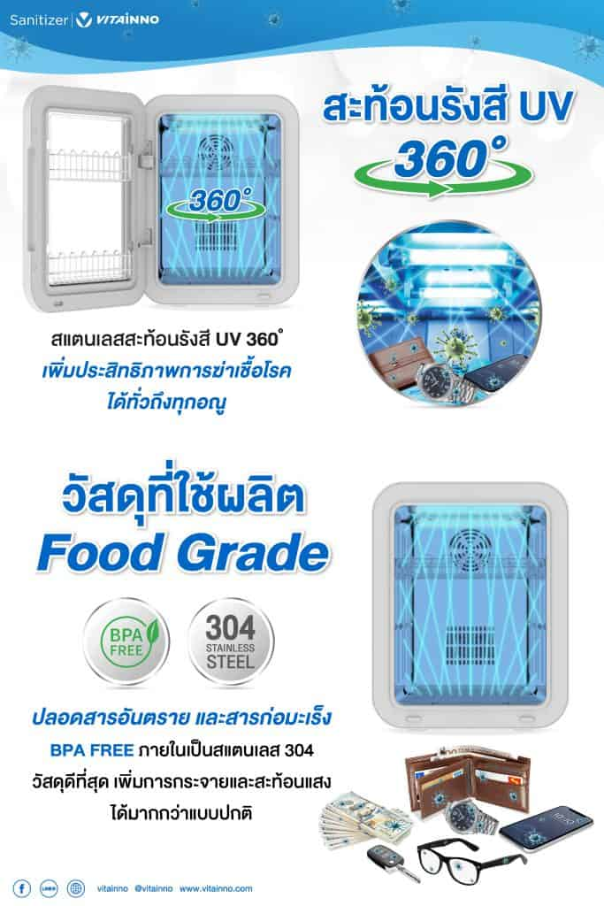 VITAINNO - UVC Food Grade- iT24hrs Selected