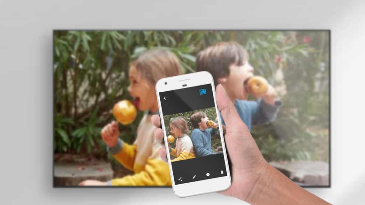 Google Meet ใช้ร่วมกับ Chromecast