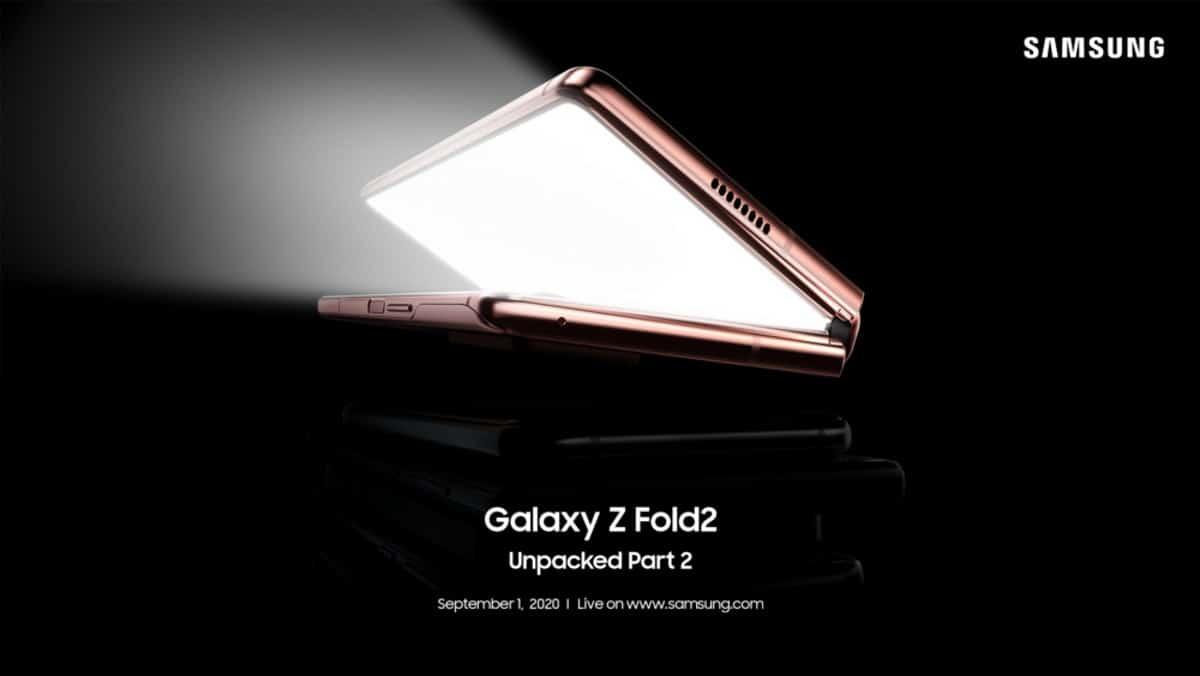 samsung จัดงานเปิดตัว Galaxy Z Fold2