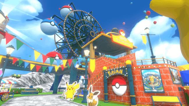เที่ยว Pokemon theme park
