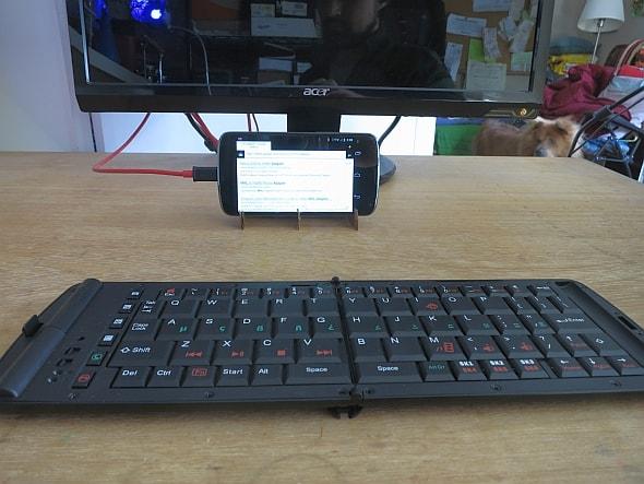 วิธีเปลี่ยนมือถือ Android เป็นคอมพิวเตอร์