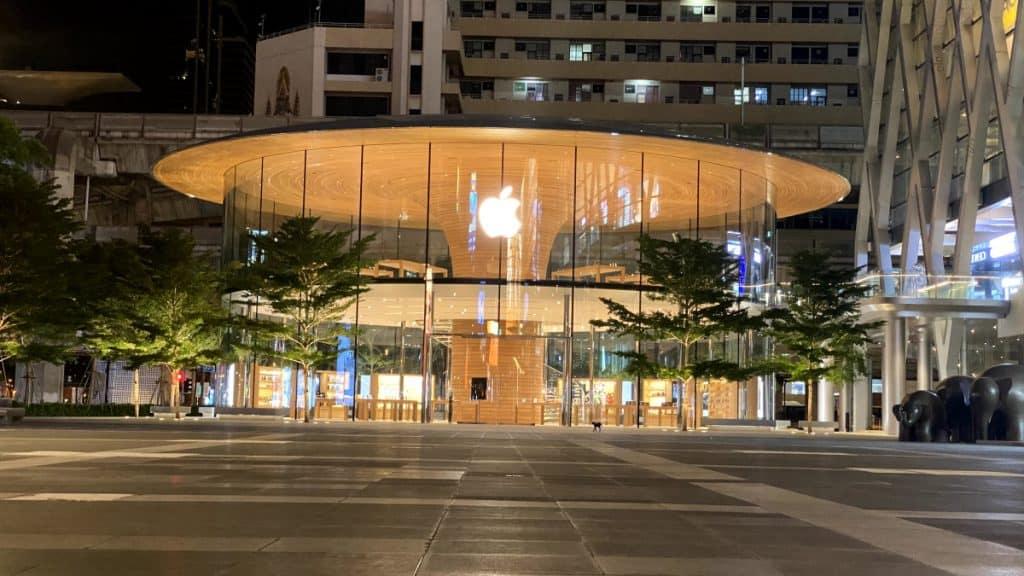 Apple Central World ปิดเร็วก่อนกำหนด