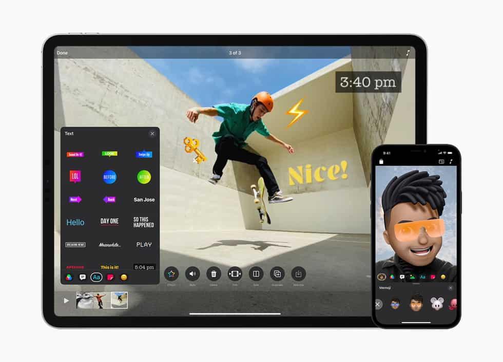 Apple Clips อัปเดตรองรับวีดีโอแนวตั้งได้แล้ว