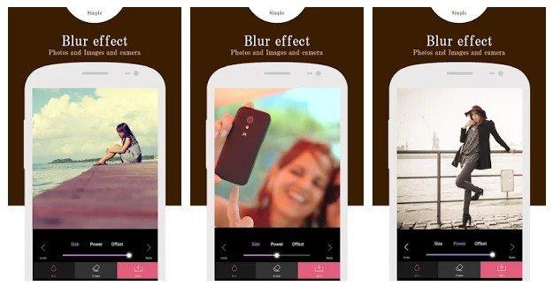 รวมแอปถ่ายรูปหน้าชัดหลังเบลอ บน Android