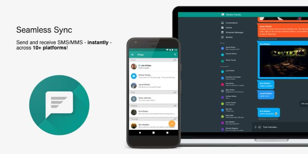 รวมแอปส่งข้อความบนมือถือ Android