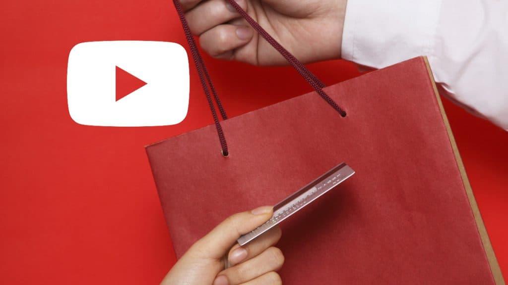 Google กำลังสร้าง Youtube ให้มีหน้า shopping
