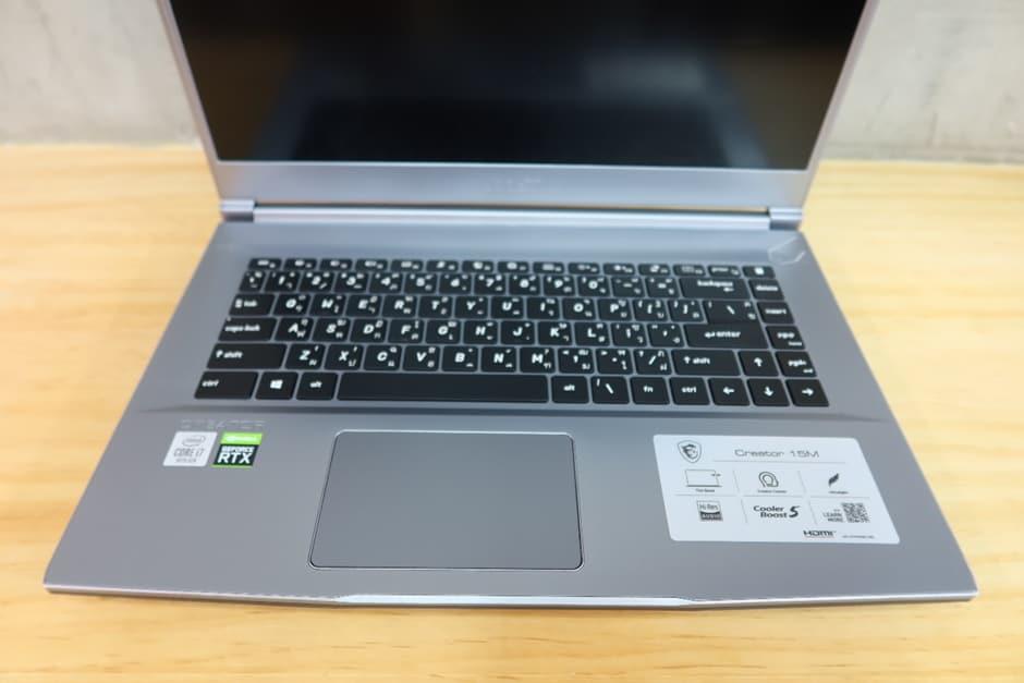 รีวิว MSI CREATOR 15M Notebook