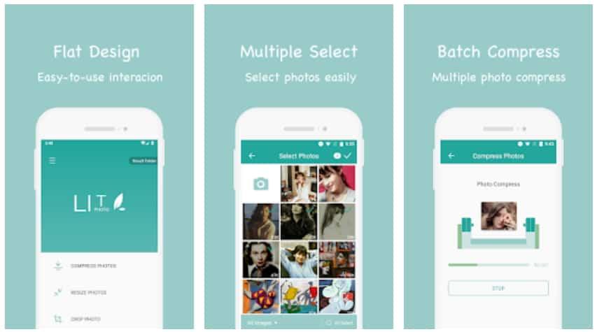 แอปย่อขนาดรูปภาพบนมือถือ Android