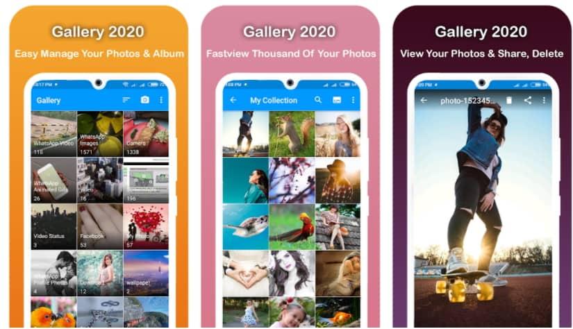 รวมแอป Gallery บนมือถือ Android