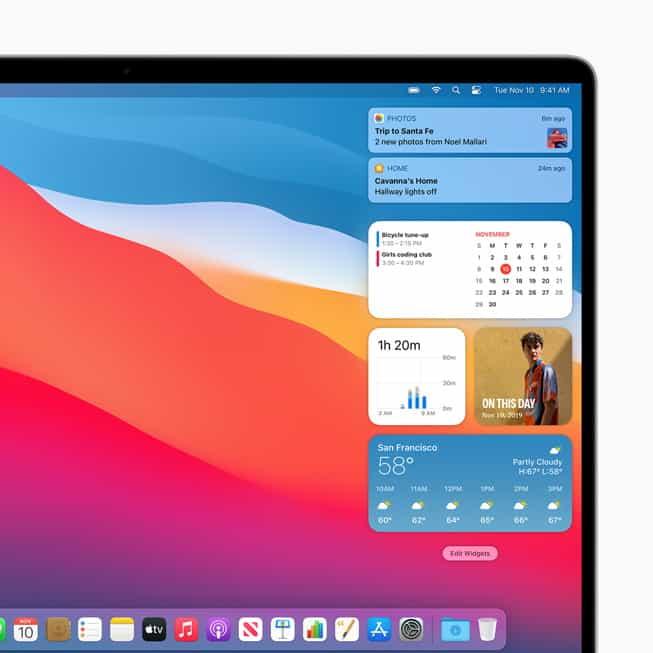 macOS Big Sur เปิดอัปเดตแล้ววันนี้