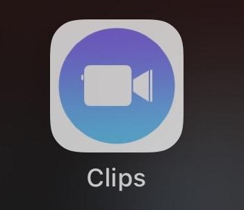 วิธีใช้ clips บน iOS