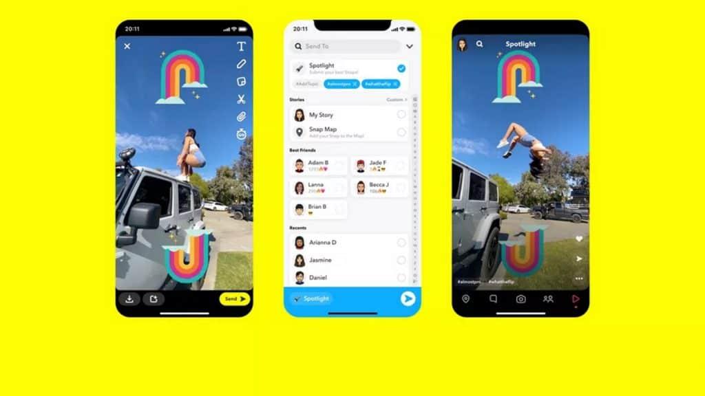 Snapchat เปิดตัว Spotlight ชน TikTok