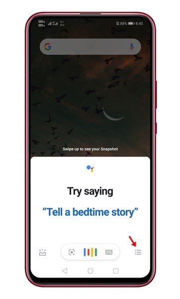 วิธีพูดสั่งแคปหน้าจอ Android ด้วย Google Assistants