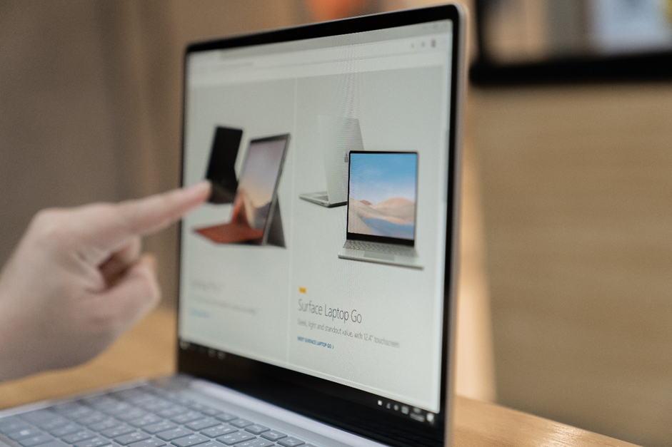 Surface Laptop Go เป็นโน้ตบุ๊คจอสัมผัส