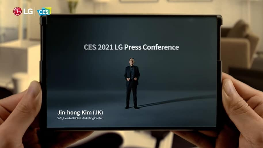 CES 2021 จับตาเทรนด์มือถือจอม้วน