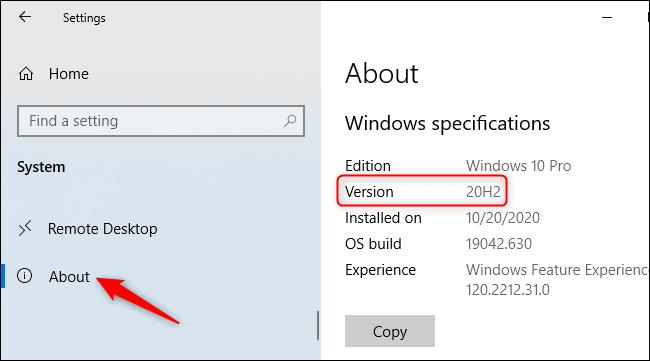 วิธีเช็ค Windows10 เป็นเวอร์ชั่นล่าสุดหรือไม่