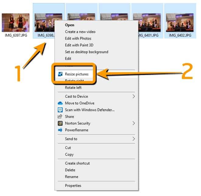 วิธีย่อรูปภาพหลายรูปพร้อมกันบน Windows10
