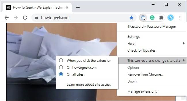 ระวัง Add-on บน Chrome