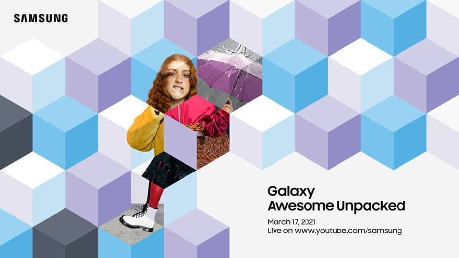 Samsung เตรียมจัดงาน Unpacked มีนาคม 2021