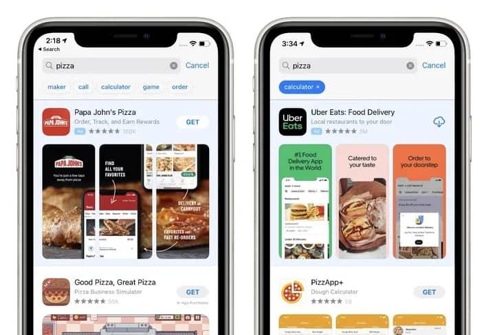 เพิ่มความเร็วหาแอปบน App Store