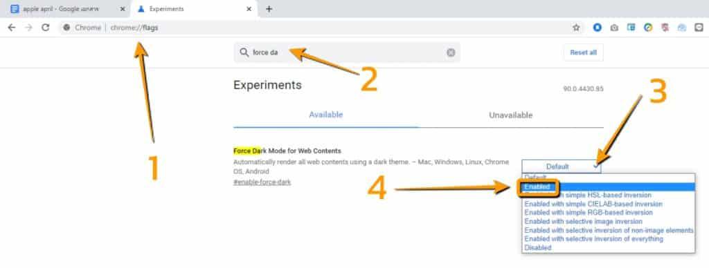 วิธีเปิด dark mode บน google docs
