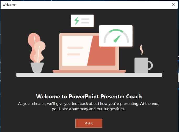 วิธีใช้ PowerPoint Presenter Coach