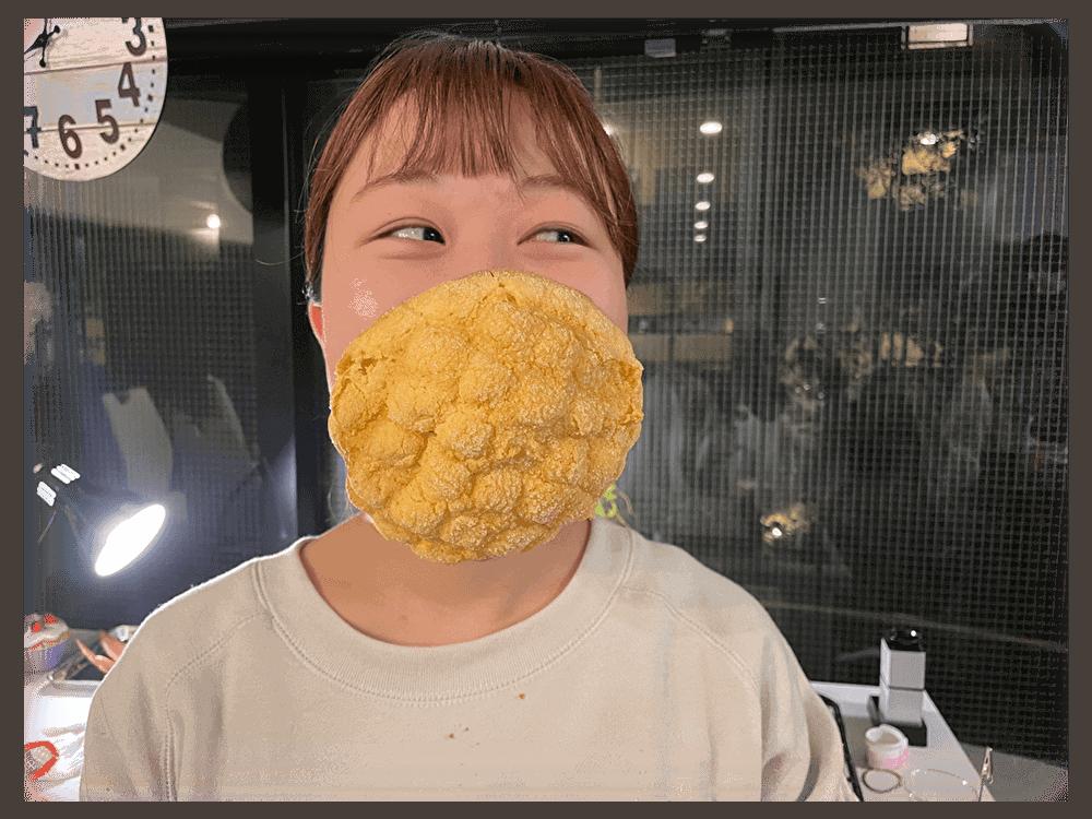 ญี่ปุ่นสร้างหน้ากากกินได้