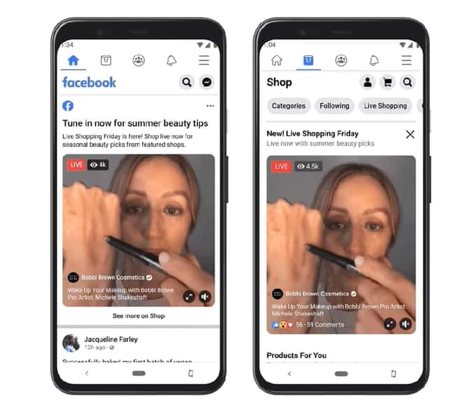 Facebook เปิดตัว Facebook shops