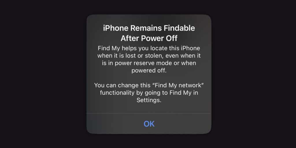 ตามหาไอโฟนเจอ แม้ปิดเครื่อง