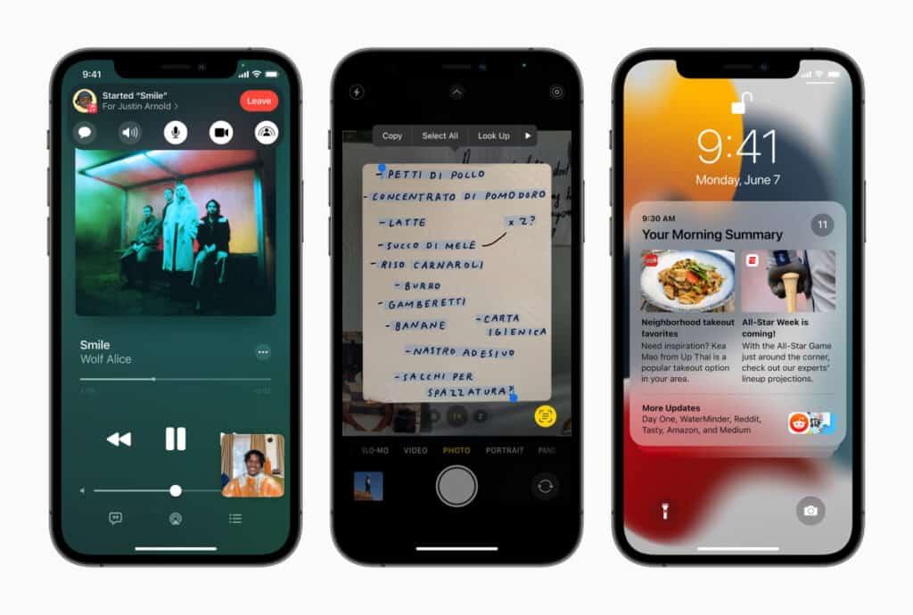 เปิดตัว iOS 15 มีอะไรใหม่