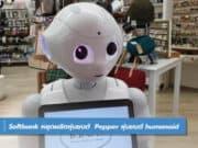 Softbank หยุดผลิตหุ่นยนต์ Pepper