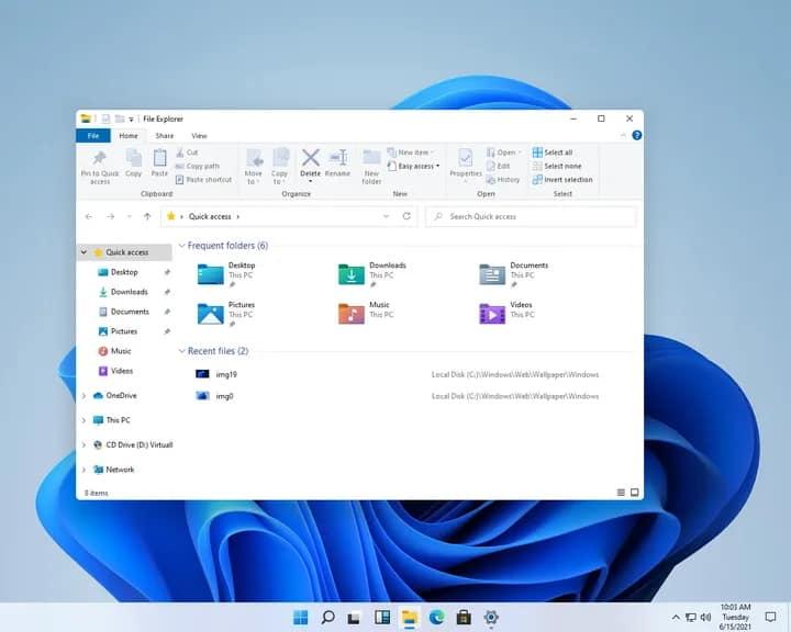 ภาพหลุด Windows11