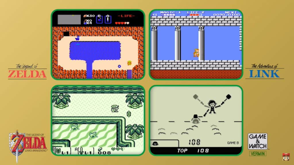 Nintendo เปิดตัวเกมกด Zelda