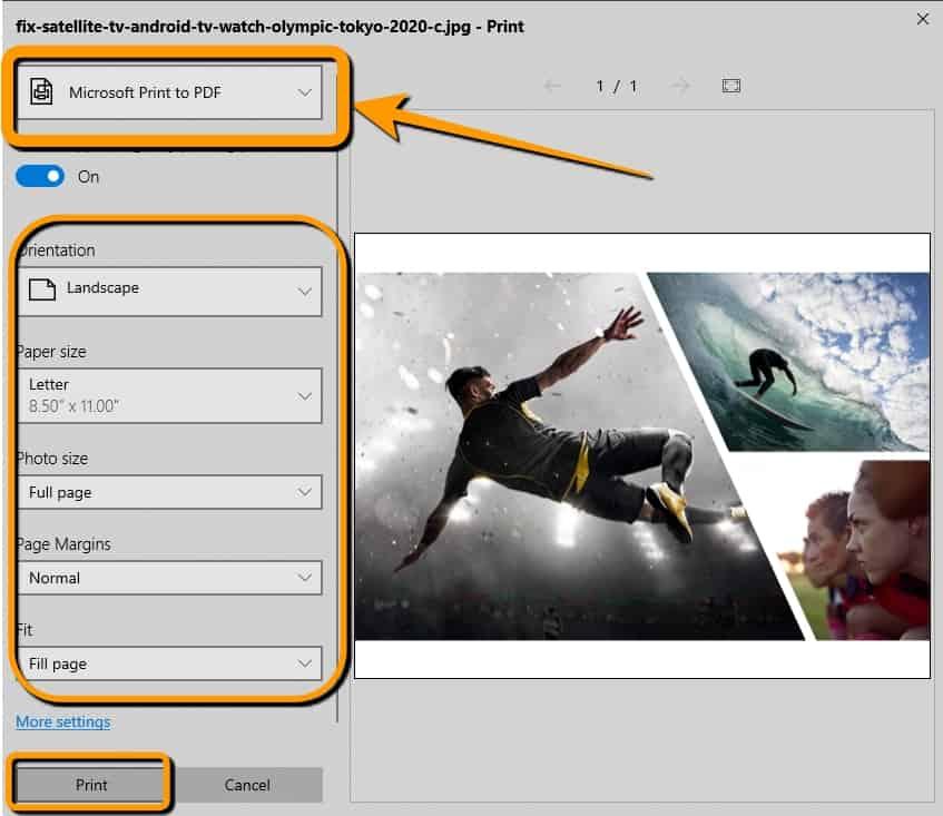 วิธีแปลงไฟล์รูปภาพเป็น PDF ด้วยแอป Photos